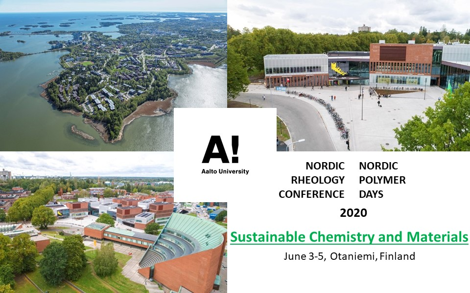 Nordic Rheology Conference & Nordic Polymer Days 2020